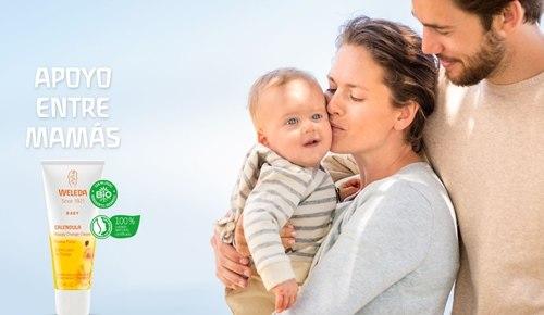 Weleda lanza #apoyoentremamás para que las mamás se den consejos sobre su crema de pañal