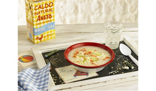 ¡ven a todopapás loves barcelona y llévate gratis un caldo aneto ideal para bebés!