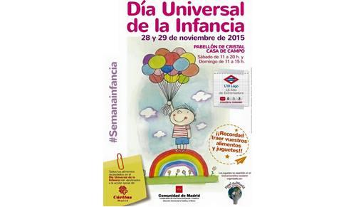 Celebración del día universal de la infancia en madrid
