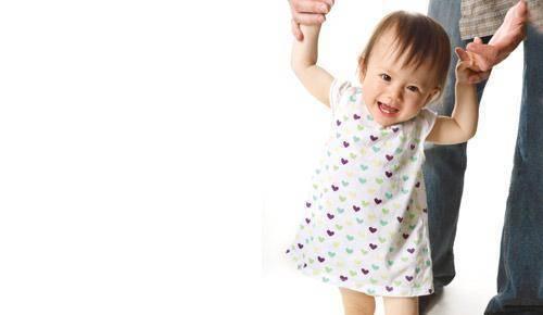 Andar, los primeros pasos del bebé