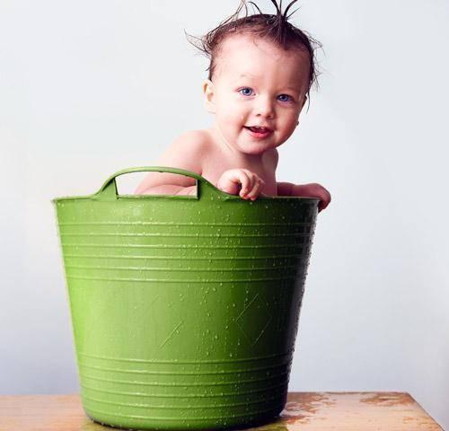 ¿cómo limpiar la piel del bebé?