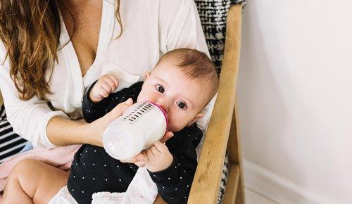 ¿la leche en fórmula es de vaca?