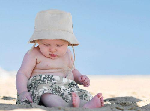 Síntomas en niños de insolación