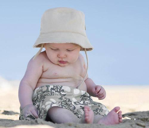 ¿cuándo llevar a un bebé a la playa?