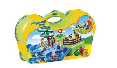 Concurso zoo y acuario maletín de playmobil