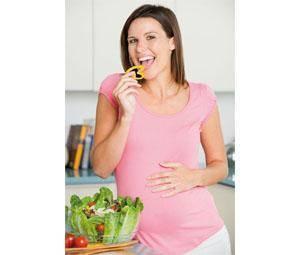 Comer bien durante el embarazo