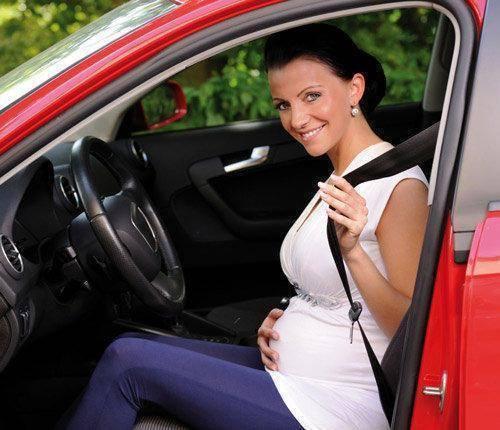 Seguridad en el coche durante el embarazo