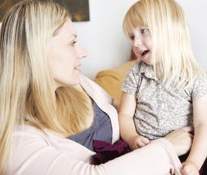 Ayudar a un niño a hablar