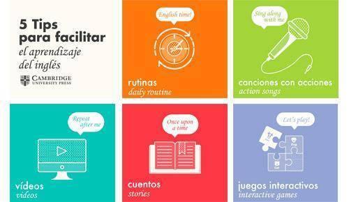 5 consejos para que los niños aprendan inglés en casa