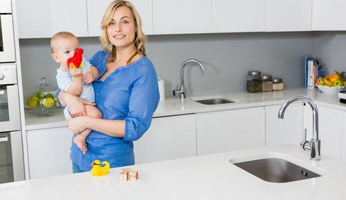 Higiene del hogar cuando tienes un bebé