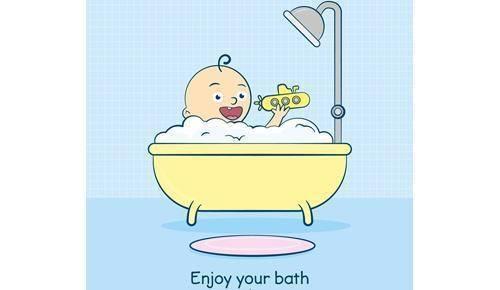 Rituales de baño para mandar a los niños a la cama