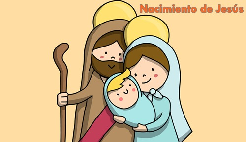 El nacimiento de jesús, contado para niños