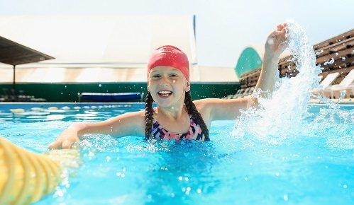 Ejercicios para niños para aprender a nadar