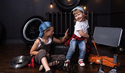 La seguridad de los niños en garajes y sótanos