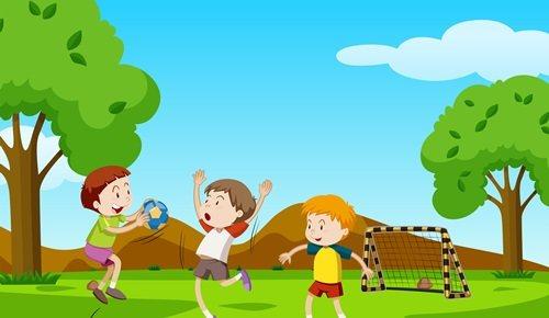 ¿cómo entretener a niños en un jardín?