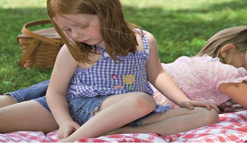 Cómo cuidar a un niño con rubéola