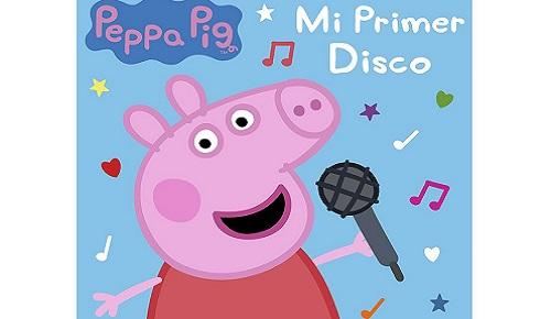 Peppa pig lanza en español su disco más esperado