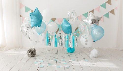 Decoração para festas infantis simples