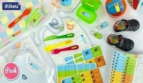 ¿ya tienes todas las cosas de tu hijo marcadas para el colegio?