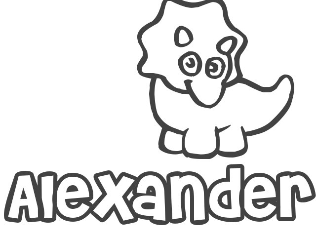 alexander coloring pages - photo#19