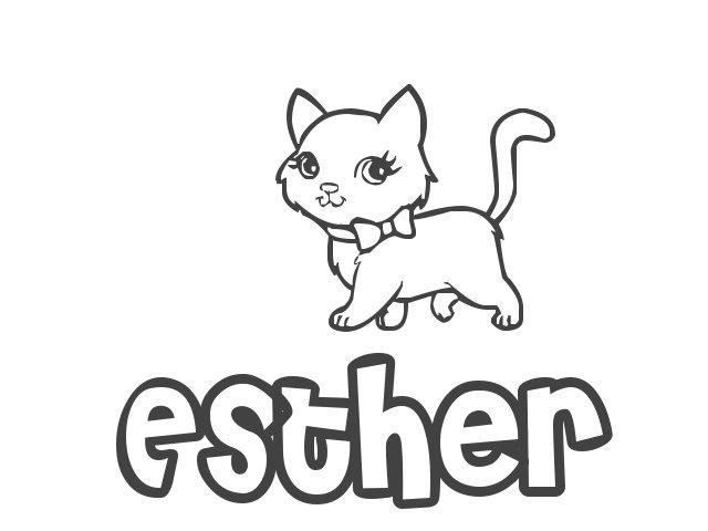 Nombre de Niña Esther, significado y origen de Esther - TodoPapás ...