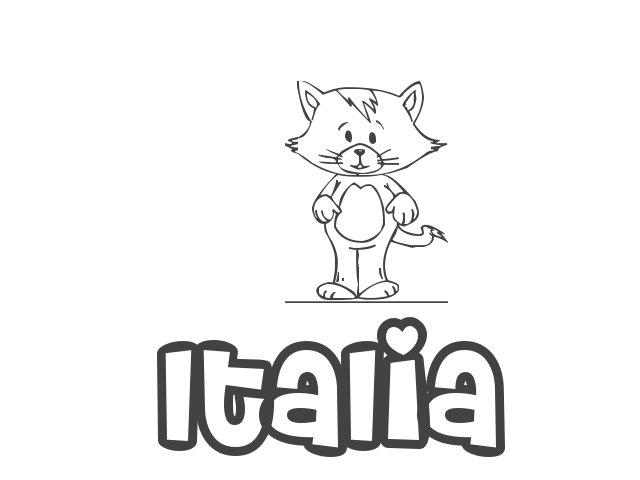 Nombre De Niña Italia Significado Y Origen De Italia Todopapás