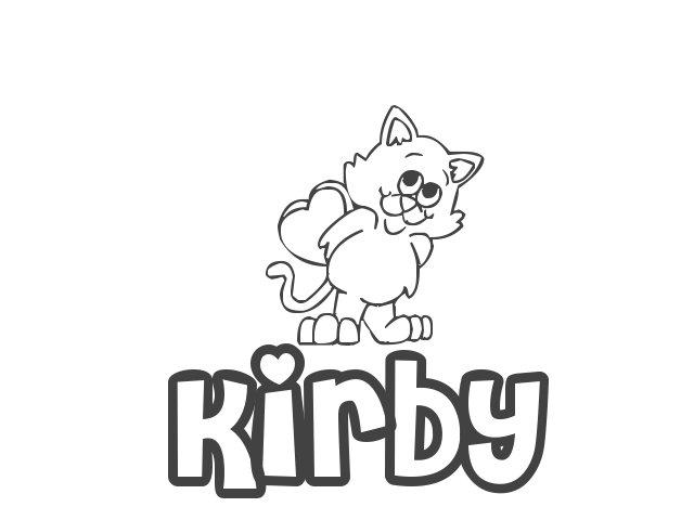 Atractivo Kirby Para Colorear Meta Caballero Motivo - Ideas Para ...