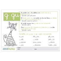 Letras G y GU