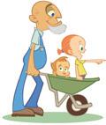 Cómo fomentar la relación abuelos-nietos