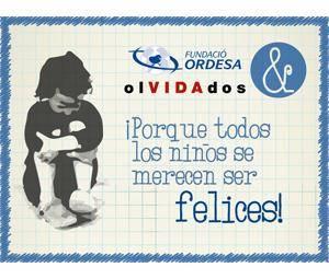 Fundación Ordesa dona alimentos para niños de familias sin recursos a la asociación  olVIDAdos