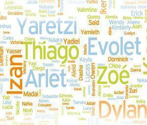Los 1.000 nombres más visitados de TodoPapás