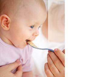 Alimentación del bebé de 5 meses
