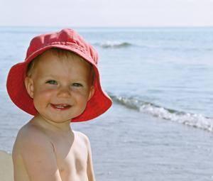 Cuándo puede ir un bebé a la playa
