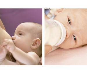¿Lactancia materna o biberón?