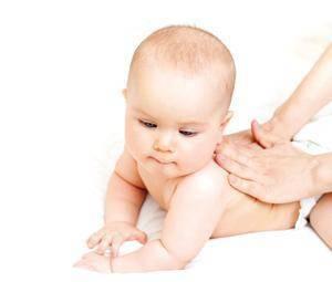El masaje para bebés