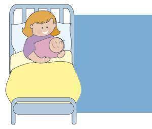 El primer día del bebé en el hospital
