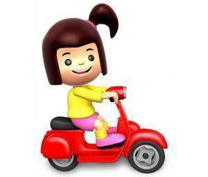 Cuándo puede ir un niño en moto