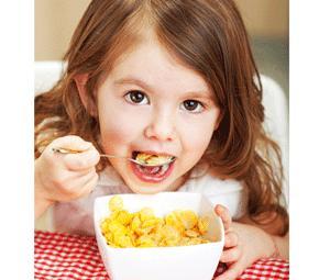 Un buen desayuno para los niños