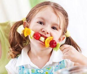 La alimentación del niño de 2 a 4 años