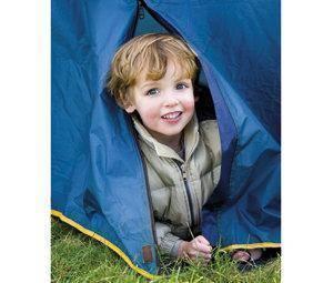Su primer campamento