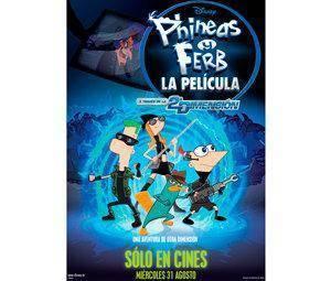 Phineas y ferb, a través de la segunda dimensión