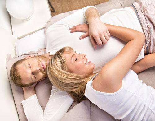 Reanudar la lactancia de la actividad sexual