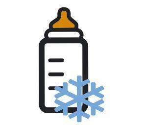 a cuantos grados se debe congelar la leche materna