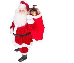 Ya vienen los Reyes Magos y... ¿Papá Noel?