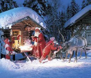 Viajar en familia a Rovaniemi
