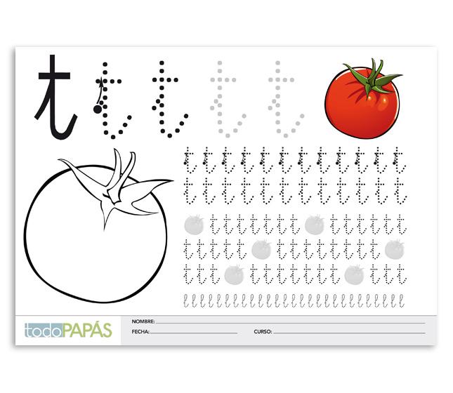 Caligrafia Para Ninos Plantillas Para Aprender A Escribir Todopapas