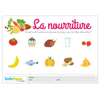 Fichas y ejercicios de vocabulario de inglés y francés para imprimir ...