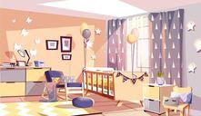 Cómo debe ser la habitación perfecta para el bebé