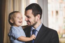 ¿Un bebé puede extrañar a su papá?