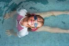 Miedo infantil a la piscina